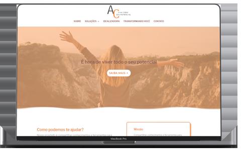 site ac viva portfolio